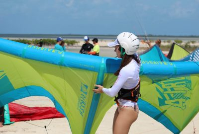 Kiteboarding Cancun - Escuela de Kitesurf Mexico - Kite school Mexico